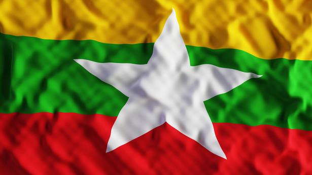 Flaga Birmy