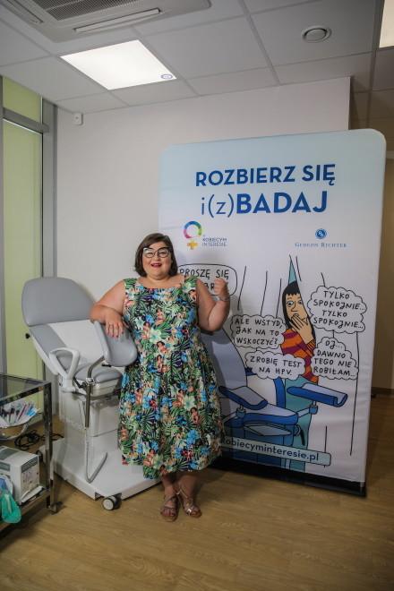 Dominika Gwit w kampanii W kobiecym interesie