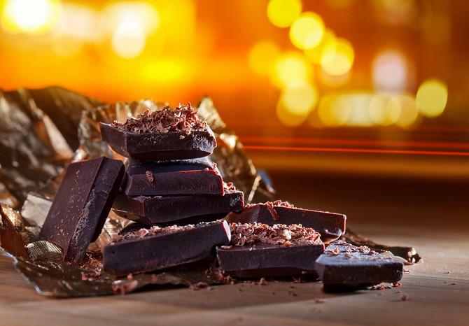 Tamna čokolada je odlična izbor magnezijuma