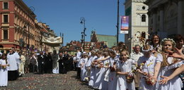Mieszkańcy tłumnie przybyli na procesje