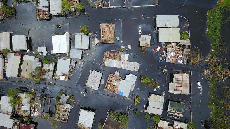 W sumie huragan Maria zabił na Karaibach ponad 30 osób