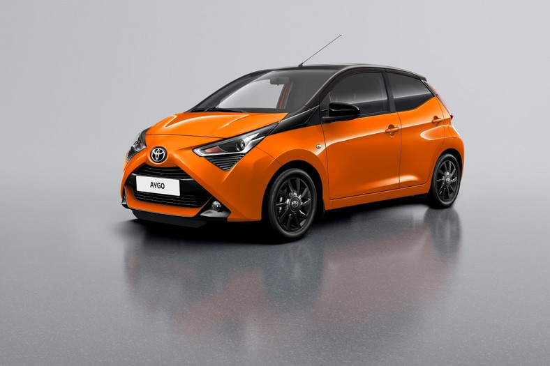 Toyota Aygo x-cite Pure Orange