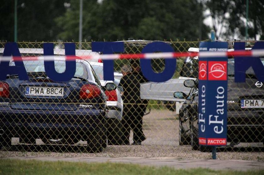 Strzelanina w komisie samochodowym.  Nowe zdjęcia!