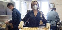 Karolina Bielawska, Miss Polonia z Łodzi wspiera akcję Zupa na Pietrynie w Wielkanoc