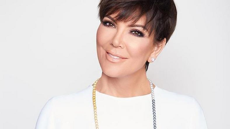 Kris Jenner announces her jewelry brand with a photo of her wearing this multi toned Maroca Pearl necklace from the limited edtion collection