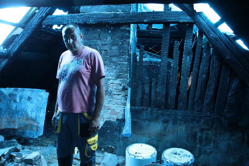 Dzień przed ślubem spłonął nasz dom