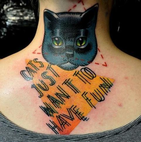 Koszmarne Tatuaże Z Kotami