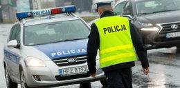 Staruszek potrącił policjantkę i uciekał przed pościgiem