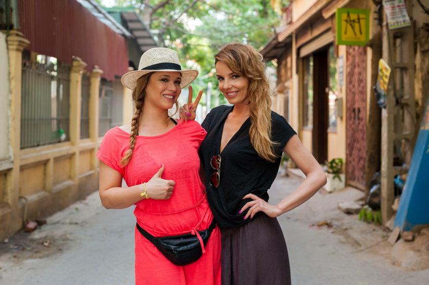 Agnieszka Włodarczyk i Maria Konarowska
