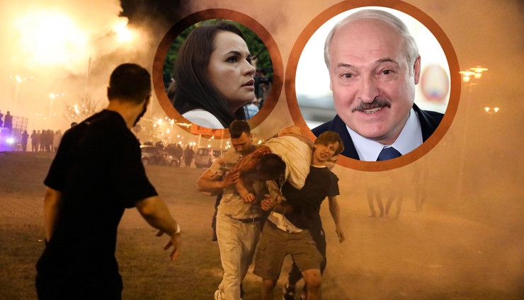 Neredi u Belorusiji nakon kontroverznih izbora