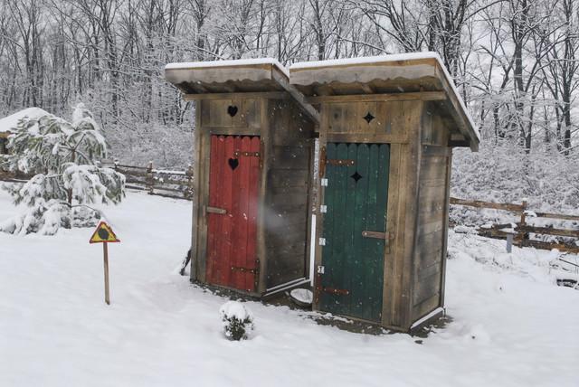 Poljski toaleti su spremni za VIP učesnike