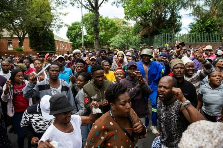 Residents of Alexandra township are angry over poor living conditions