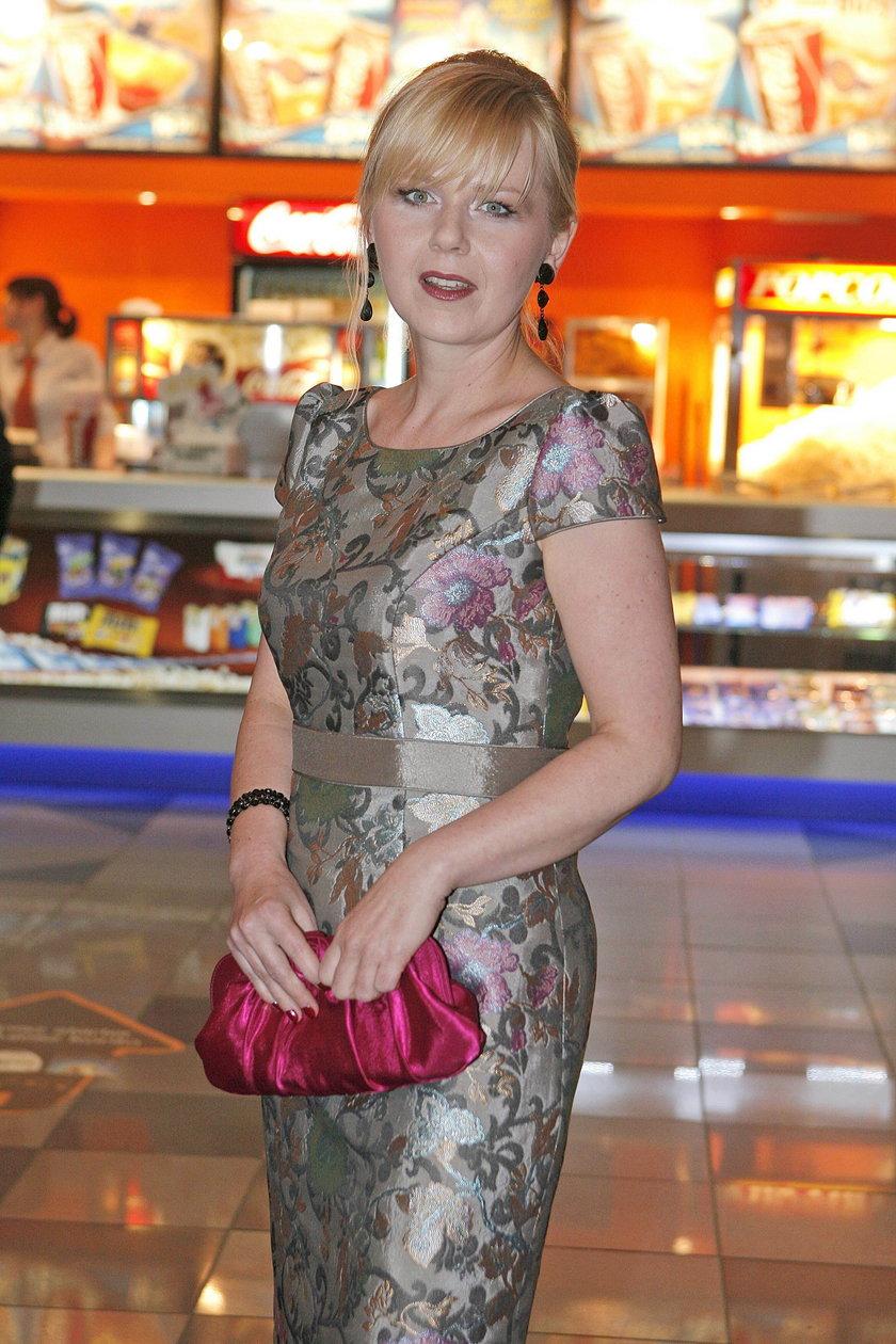 Agnieszka Kotlarska w 2009 roku