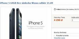 Nowy iPhone 5 już na Allegro. Kosztuje...