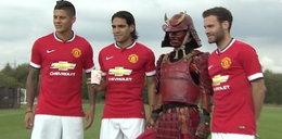 Gwiazdy Manchesteru United zmierzyły się z Czerwonym Samurajem!