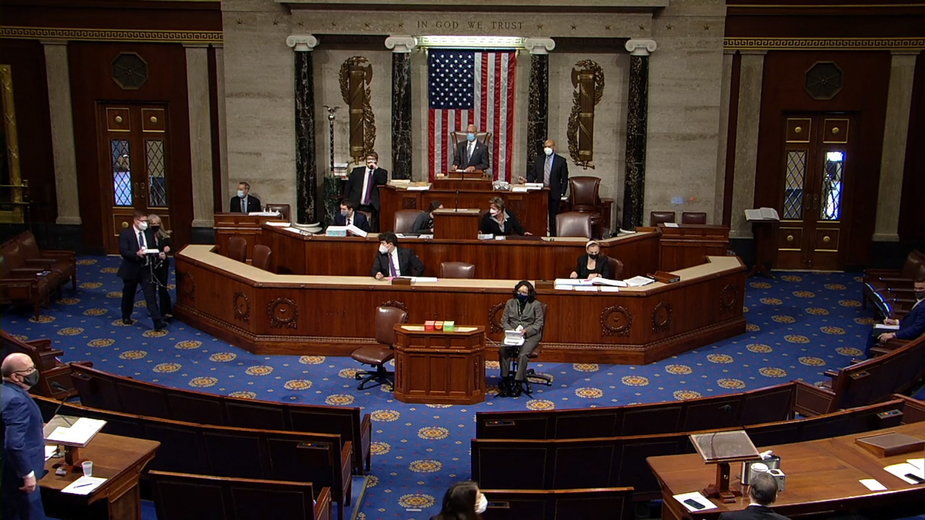 Izba Reprezentantów za impeachmentem Trumpa