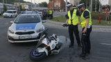 Policyjny pościg za motocyklistą. Pirat jechał nawet po chodniku!