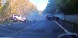 Tragiczny wypadek luksusowych aut z Polski. Nie żyje 57-latek