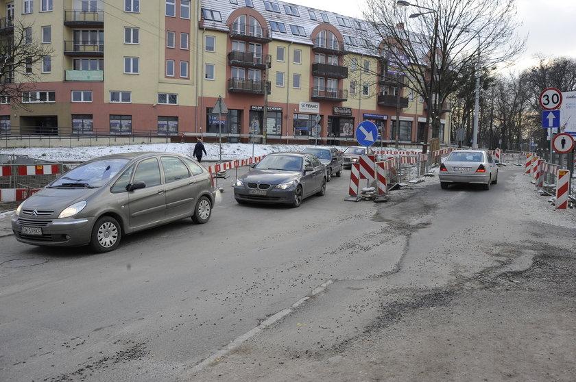 Remont ul. Przyjaźni we Wrocławiu