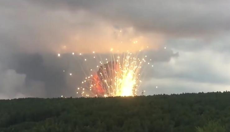 Eksplozija u Sibiru