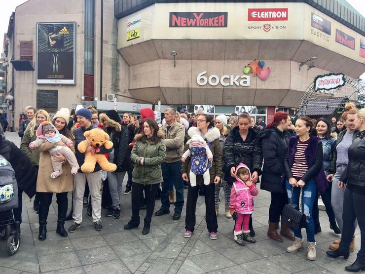 Majke protest bebe Banjaluka