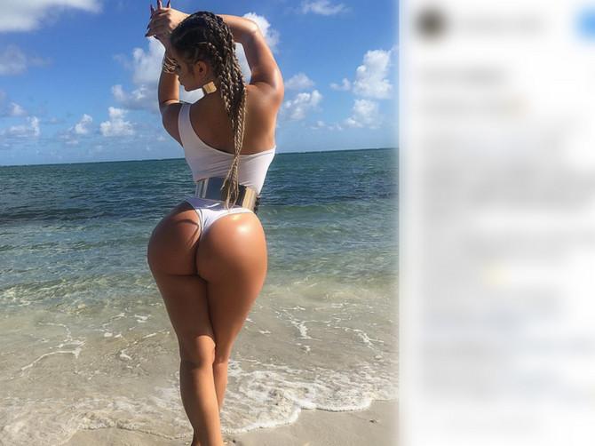 Kim Kardašijan iz Rusije na Instagramu prate milioni: Tvrdi da je sasvim prirodna, ali da li joj vi verujete?