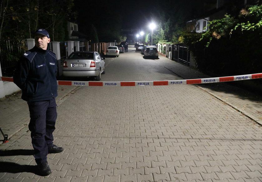 Podwójne morderstwo w Wawrze