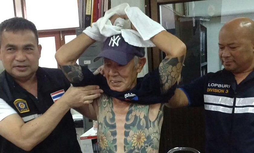Boss mafii wpadł przez tatuaże
