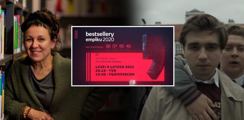Bestsellery Empiku 2020. Tokarczuk,Vega, Mata i... Kto znalazł się wśród nominowanych?
