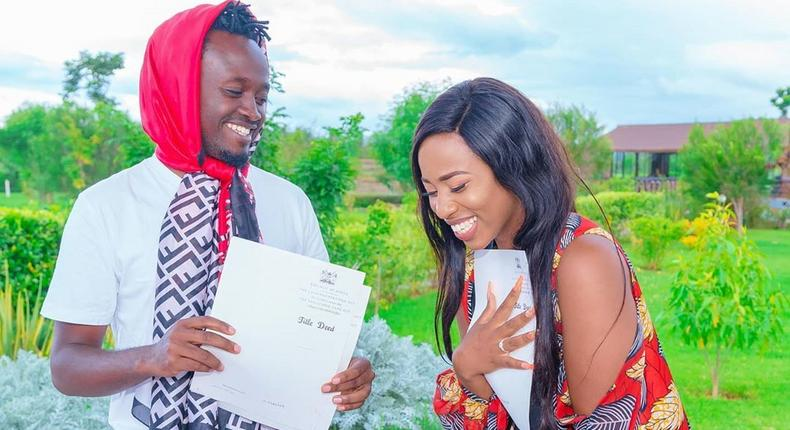 Bahati gifts wife Diana Marua 2 acres of land for her birthday