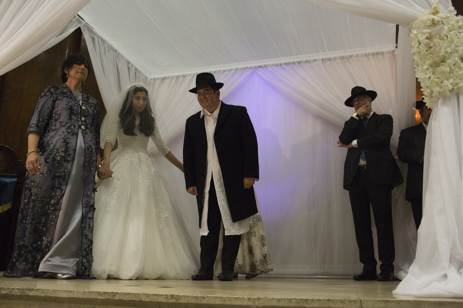 Żydowski ślub w Nowym Jorku