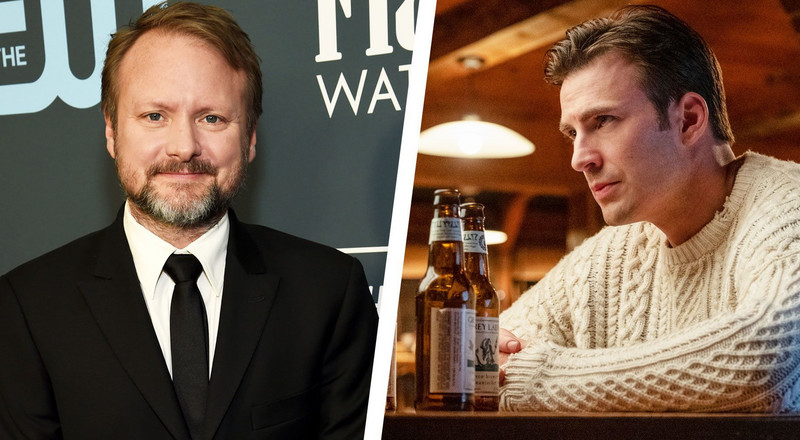 Rian Johnson Feels Bad For Chris Evans 'Pounding' So Many Butter Cookies in Knives Out