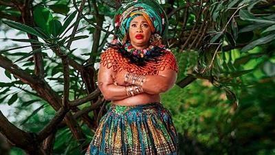 Nollywood veteran Clarion Chukwurah goes topless for her birthday photoshoot