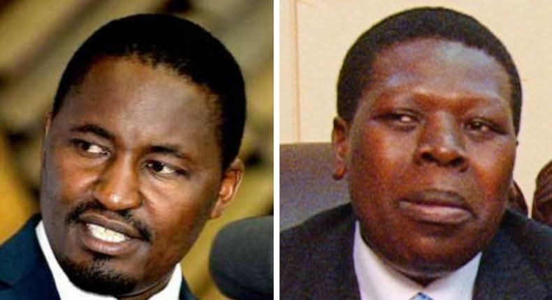 CSs Mwangi Kiunjuri and Eugene Wamalwa record statements at DCI headquarters