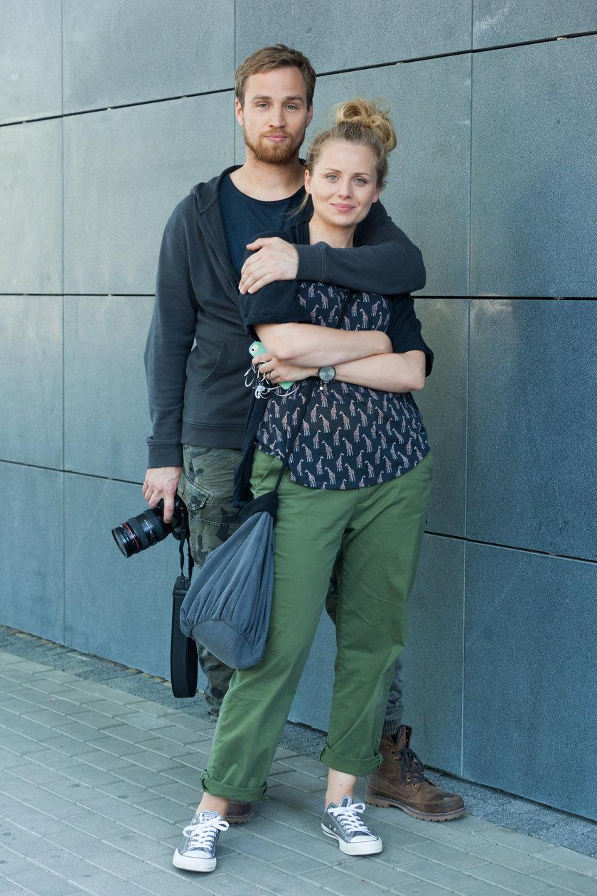 Mateusz Janicki i Paulina Chruściel