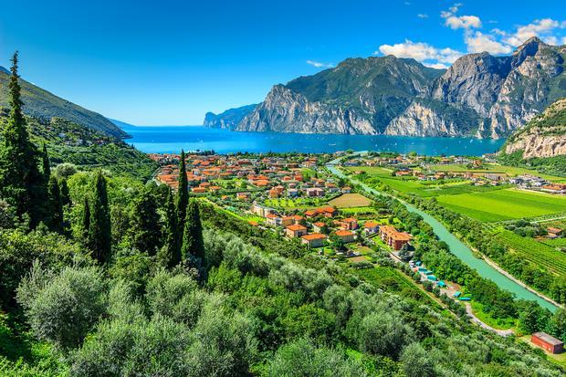 Okolice Torbole, Włochy