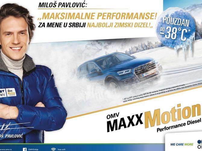 Maksimalna pouzdanost uz zimski OMV MaxxMotionDizel