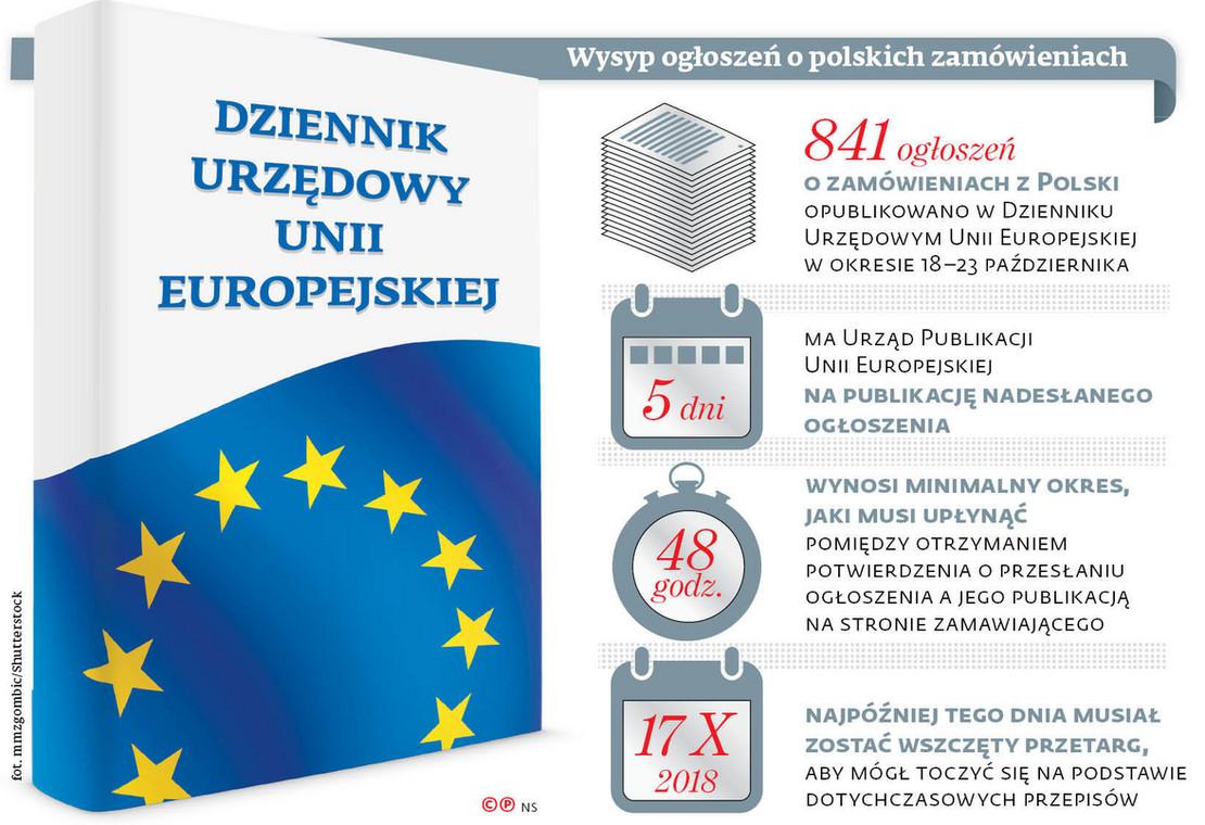 Wysyp ogłoszeń o polskich zamówieniach