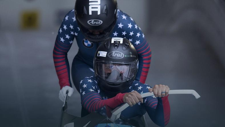 Elana Meyers Taylor i Kehri Jones