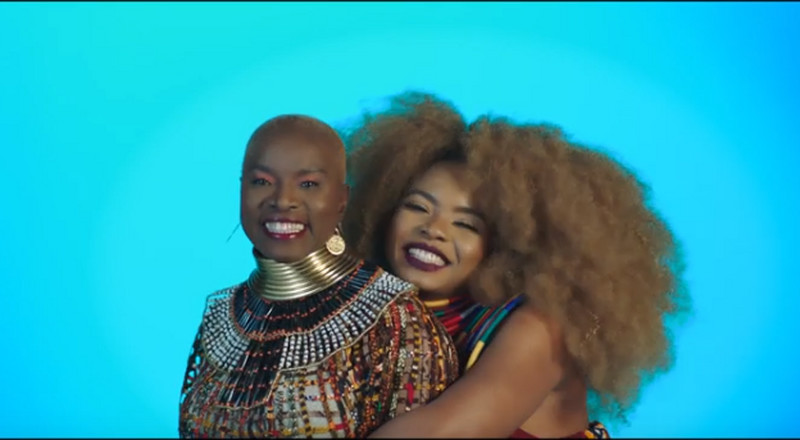 Angelique Kidjo and Yemi Alade celebrate Africa in new video for, 'Shekere'
