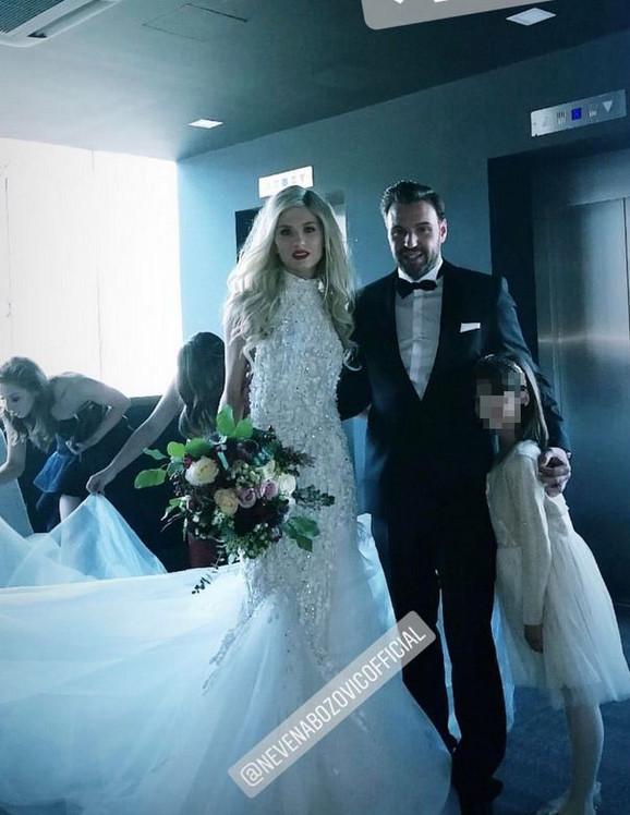 O svadbi od 70.000 evra ne prestaje da se priča: Nevena Božović objavila prvu sliku sa venčanja