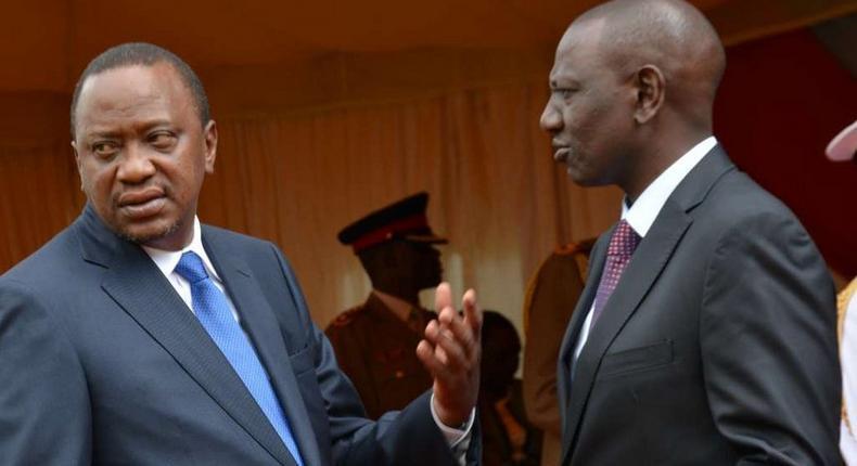 President Uhuru Kenyatta and Deputy President William Ruto