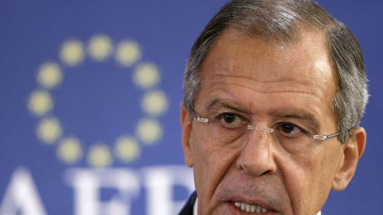 Rosyjski minister przyjeżdża zresetować stosunki
