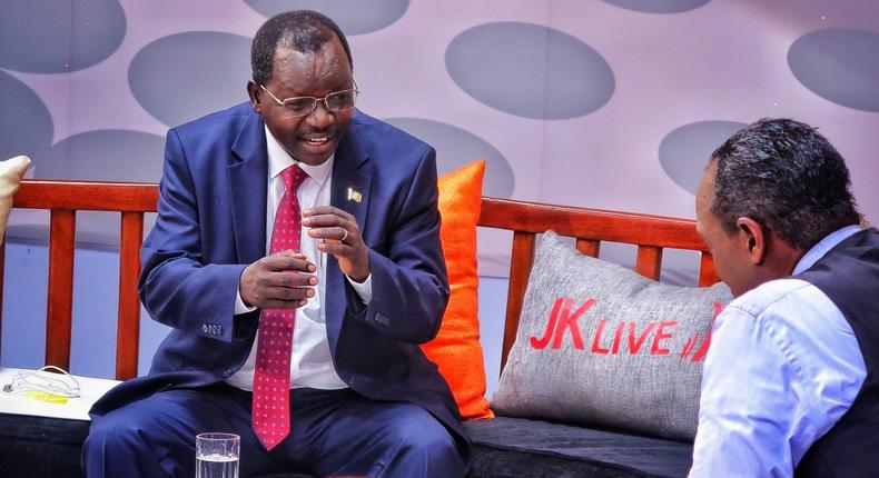 Jeff Koinange bashed as Kenyans heap praises on West Pokot Governor John Lonyangapuo after live interview