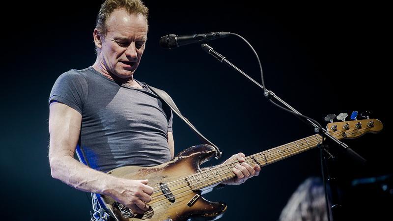Sting na koncercie w Warszawie