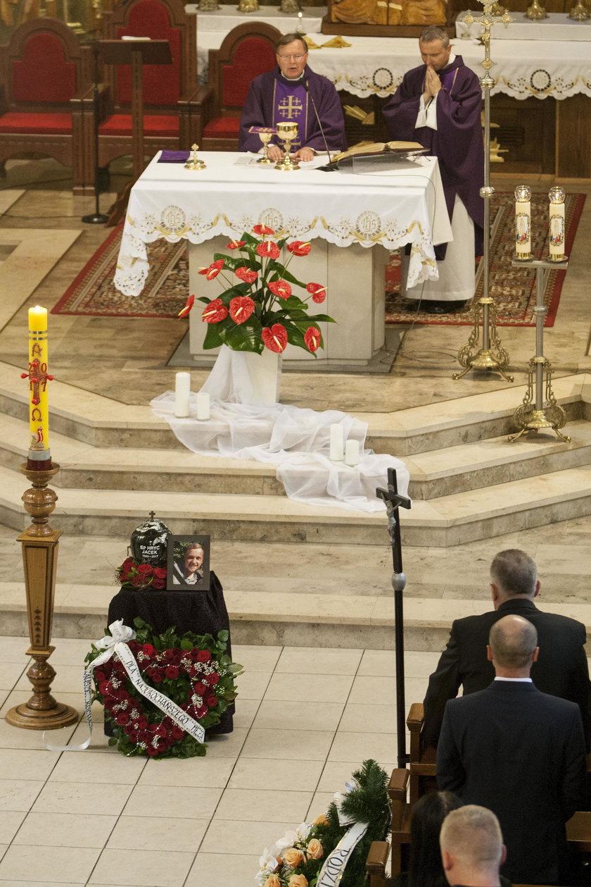 Jastrzebie-Zdrój. Pogrzeb Jacka Hrycia (†28l.)