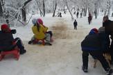 Ada Ciganlija, sneg
