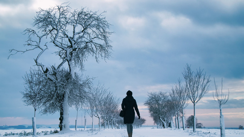 Spacer zimą