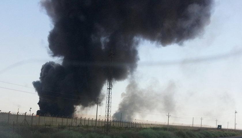 Zamach na rafinerię