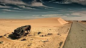 Mauretania rowerem. Burze piaskowe i wojskowe posterunki